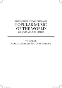 POPULAR MUSIC OF THE WORLD