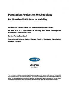 Population Projection Methodology