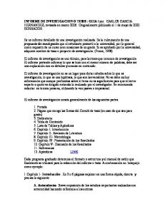 por: CARLOS GARCIA HERNANDEZ, revisada en marzo Originalmente publicado el 1 de mayo de 2000