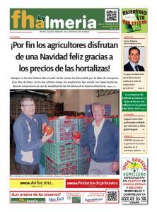 Por fin los agricultores disfrutan de una Navidad feliz gracias a los precios de las hortalizas!
