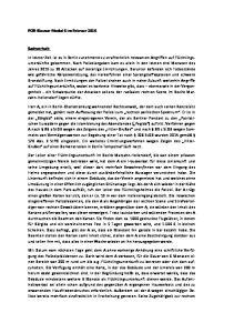 POR-Klausur Modul 6 im Februar Sachverhalt: