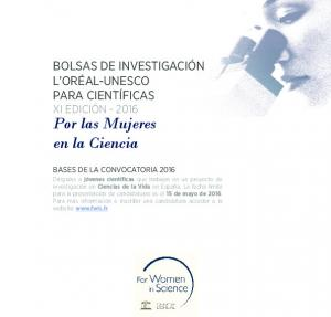 Por las Mujeres en la Ciencia