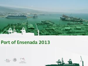 Port of Ensenada 2013