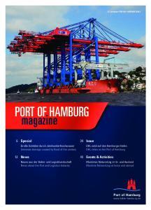 PORT OF HAMBURG magazine