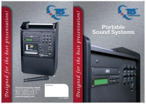 Portable Sound Systems