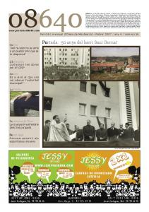 Portada: 50 anys del barri Sant Bernat