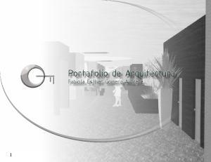 Portafolio de Arquitectura. Fabiola Esther Gomero Aldrete