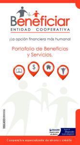 Portafolio de Beneficios y Servicios