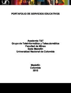 PORTAFOLIO DE SERVICIOS EDUCATIVOS