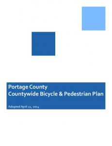Portage County Countywide Bicycle & Pedestrian Plan