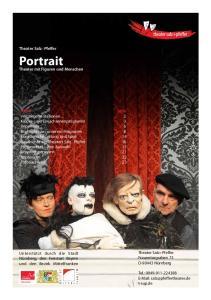 Portrait. Theater Salz+Pfeffer. Theater mit Figuren und Menschen