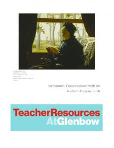 Portraiture: Conversations with Art