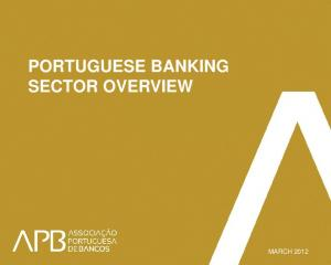 PORTUGUESE BANKING SECTOR OVERVIEW
