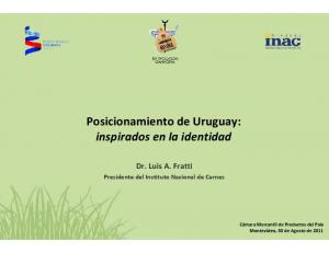Posicionamiento de Uruguay: inspirados en la identidad