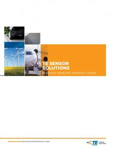 POSITION SENSORS PRODUCT GUIDE