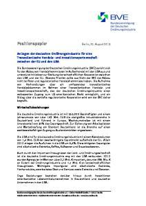 Positionspapier Berlin, 22. August 2013
