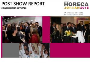 POST SHOW REPORT 2015 EXHIBITION COVERAGE