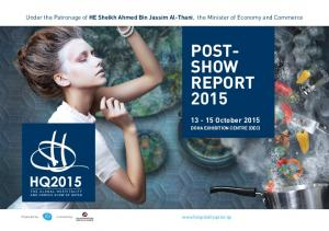 POST- SHOW REPORT 2015