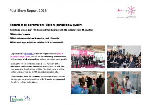 Post Show Report 2016