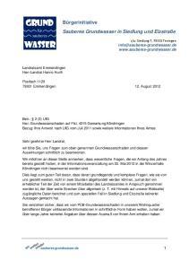 Postfach Emmendingen 12. August 2012
