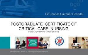 POSTGRADUATE CERTIFICATE OF CRITICAL CARE NURSING CENTRE FOR NURSING EDUCATION SCGH