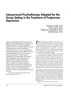 Postpartum depression (PPD) is a commonly occurring