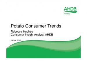 Potato Consumer Trends