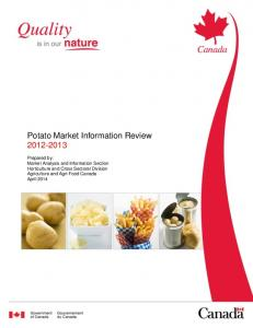 Potato Market Information Review