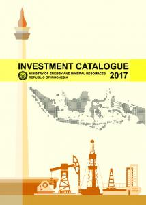 POTENCY OF EMR INVESTMENT IN INDONESIA