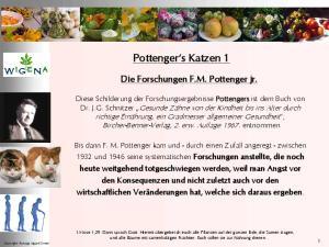 Pottenger s Katzen 1