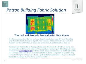 Potton Building Fabric Solution