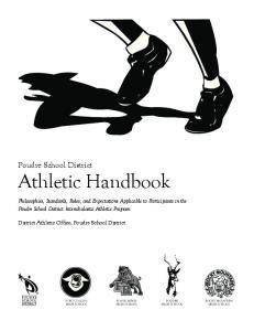 Poudre School District Athletic Handbook