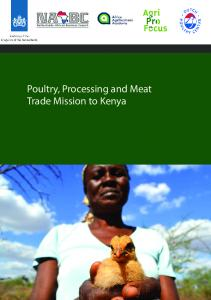 Poultry, Processing and Meat Trade Mission to Kenya