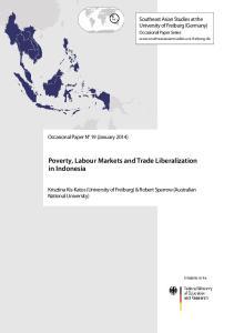 Poverty,LabourMarketsandTradeLiberalization in Indonesia