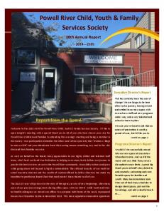 Powell River Child, Youth & Family Services Society