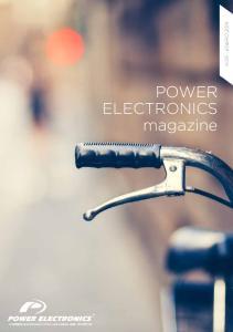 POWER ELECTRONICS magazine N.05 - ENERO 2014