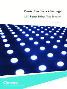 Power Electronics Testings