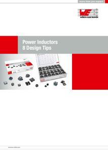Power Inductors 8 Design Tips