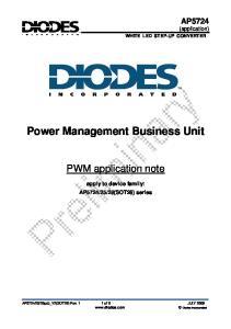 Power Management Business Unit