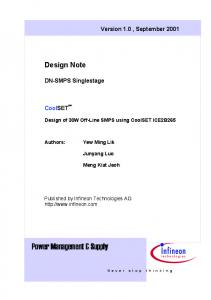 Power Management & Supply