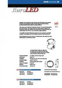 Power saving, completely sealed LED Lamps