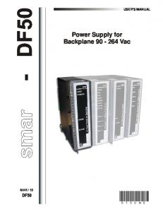 Power Supply for Backplane Vac