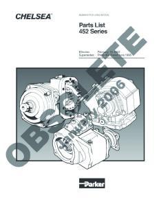 Power Take-Off 452 Series
