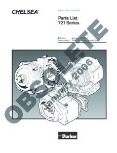 Power Take-Off 721 Series