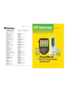 PowerBank Rechargeable Batteries