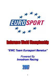 Powered By Innodrom Racing