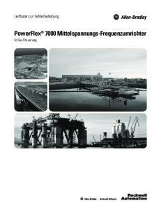 PowerFlex 7000 Mittelspannungs-Frequenzumrichter