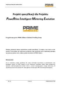 PoweRline Intelligent Metering Evolution