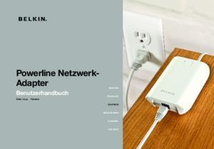 Powerline NetzwerkAdapter