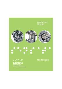 POWERTRAIN SENSORS TECHNOLOGIES